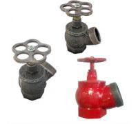 Клапан (вентиль) пожарный чугун КПК-2 Ду50 Ру16 угловой