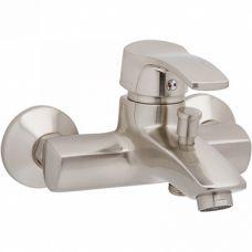 Смеситель для ванны W.ZORGЕ 40мм короткий излив сатин