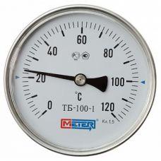 Термометр биметал. 0-120 *С ножка 90мм
