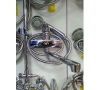 Смеситель для ванны W.ZORGЕ 35мм дивертор к/б в теле излив 30см L