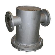 Грязевик абонентский вертикальный, фланцевый, PN16, DN 100, ГВ-100(16)