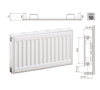 Радиатор панельный LEMAX Premium C H 10х500х600