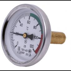 Термометр биметал. 0-120 *С ножка 32мм