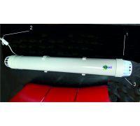 Рециркулятор воздуха бактерицидный AirGuard-15W/UVCB white