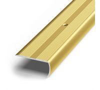 Угол алюминиевый 24х18мм 1.35м (золото)