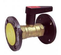 Клапан балансировочный ф/ф латунь Ду40S Ру16 Kvs=23.3