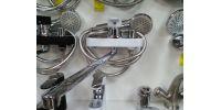 Смеситель для ванны ARCO 40мм белый хром