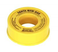 Фумлента 12ммх0,1ммх10м желтая (газ)