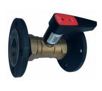 Клапан балансировочный Venturi FODRV ф/ф,латунь, Ду 40 мм