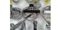 Смеситель для ванны ARCO 40мм черный хром