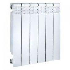 Радиатор алюминиевый 500/80 (6секц)